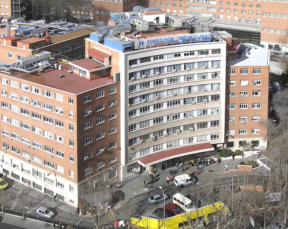 Fachd general del centro hospitalario Fundación Jiménez Díaz en Madrid